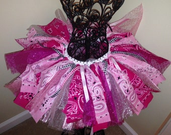 Cowgirl Birthday Tutu - Western - Rodeo - First Birthday Tutu - Infant Toddler Girls