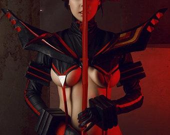Kill la Kill! - Ryuko Matoi cosplay print