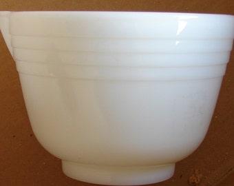 White mixing bowl