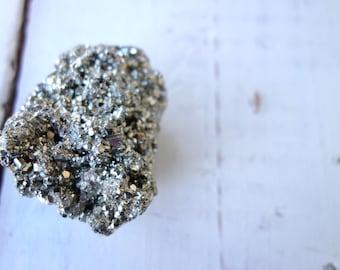 Pyrite Cluster - 153 grams - Crystal - Crystals