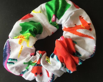 Dinosaur Party Scrunchie