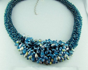 Aqua Lekku Necklace