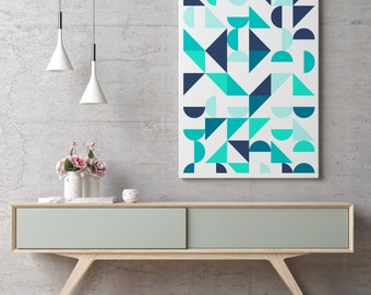 Nordic Wall Print, Scandinavian Print Art, Minimalist Geometric Wall Decor, Abstract Art, Retro Minimalist Modern Prints, Best Selling Art