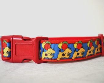 Dog Collar - Labrador Party - 50% Profits to Dog Rescue