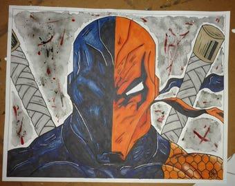 Deathstroke 11x14 Print