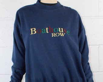 Boathouse Row Vintage Preppy Sweatshirt