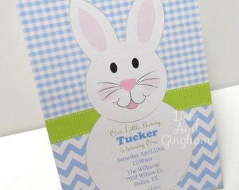Easter Birthday Invitation-Easter Egg Hunt Invitation-Bunny Invite-Easter Invitation Bunny Invite-Easter Bunny Invite-Easter Egg Hunt Invite