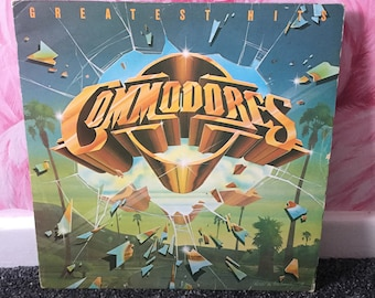 Commodores 'Greatest hits' Vinyl