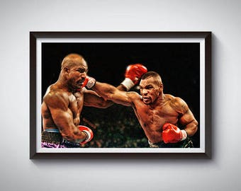 Boxing Fighting Inspired Art Poster Painting Print 3