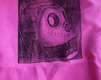 SALE - Day of the Dead Skull Kid's Tee - Pink
