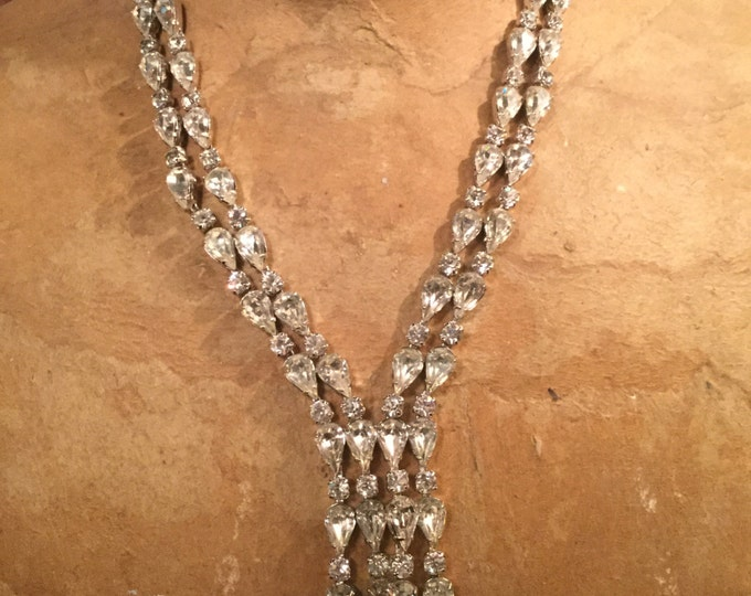 Ca. 1930s Fenichel Swarovski Necklace