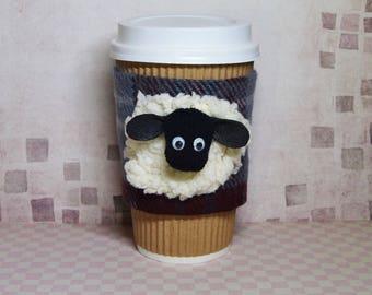 Cup Cozy, Coffee Mug Cozy, Coffee Cup Cozy, Coffee Cup Sleeve