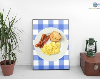 Ron Swanson Breakfast poster / Print / Art - Parks and Recreation