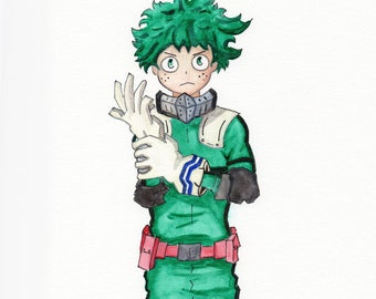 CUSTOM - Watercolor fanart - Your Choice