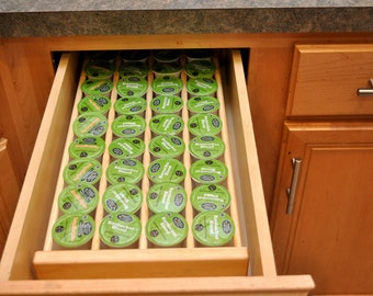 Keurig K-CUP STORAGE ORGANIZSER Insetrt Holds From 36 to 63 K-Cups