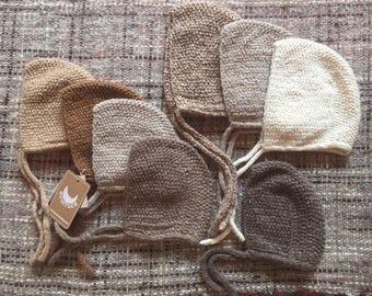Baby Bonnet, Alpaca bonnet