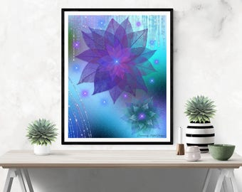 FRAMEABLE ART (Digital Download) - Magical Dreams 1 – Suitable for Framing, Instant Download, Great Gift for You or Others