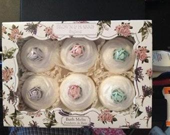 Cupcake bath melts