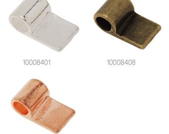 50PCS 17*10mm High Quality Glue On Bails Charms/Pendants 100084