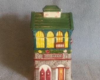 Cookie Jar - Treat Jar - Post Office Theme - Mercuries 1995