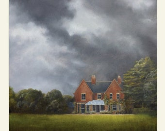 Borley Rectory - Most Haunted House in England - Greetings Card