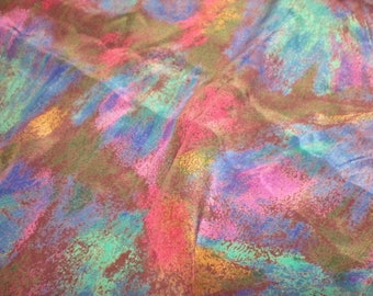 """Vintage Poly Charmeuse 1 7/8 yard 43""""/44"""" wide."""