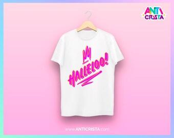 Shangela Halleloo! (white t-shirt)