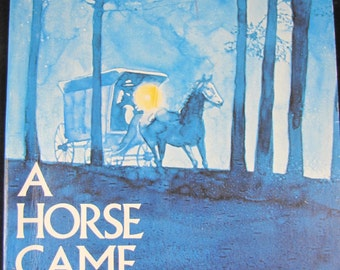 A Horse Came Running // 1975 Softback // Young Adventure story of a tornado, a horse and a boy // Newbery award and honor author