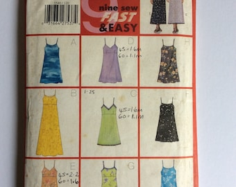 Butterick Dress Sewing Pattern 5540 - 50s Style Sewing Pattern - Vintage Style Sundress - Sizes 12-16 - Vintage Style Sewing Pattern