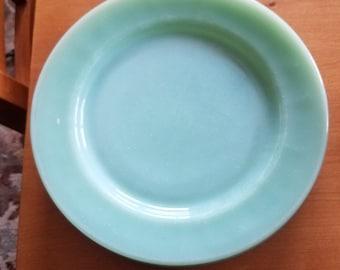 "Jadeite Restaurant Ware 9"" Dinner Plate Fire-King"