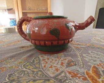Terra Cotta Teapot