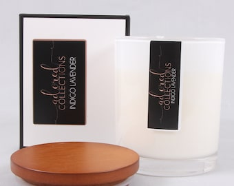 Oakwood Scented Soy Candle White | 240g
