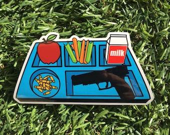 Lunch Vinyl Sticker