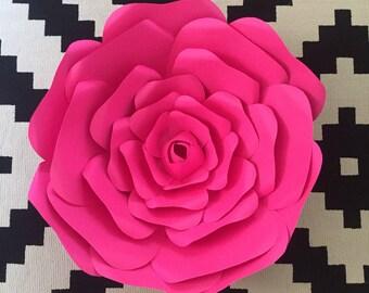 Custom Paper flower back drop