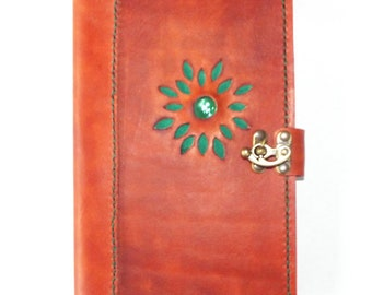 Leather Refillable Journal Cover - Moleskine Cover