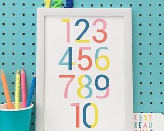 ABC + 123 set of 2