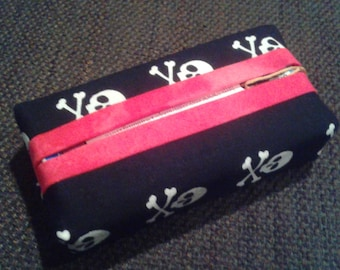 Skulls Pocket Tissue Holder