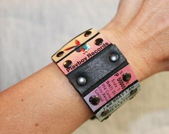 """wrist cuff - """"Lois Fletcher"""""""