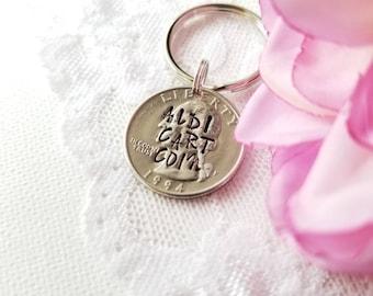 Aldi Quarter Holder, Aldi Cart Quarter, Aldi Keychain, Quarter Keychain, Coin Keychain, Aldi Quarter Keychain, Aldi Coin Keychain, Aldi Cart