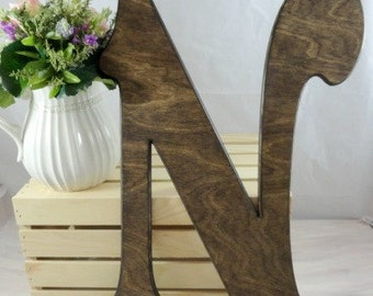 Victorian Wedding Letters Signature Letters Large Wood Letters Rustic Distressed Letters Wedding Decor Home Decor Wedding Photo Props