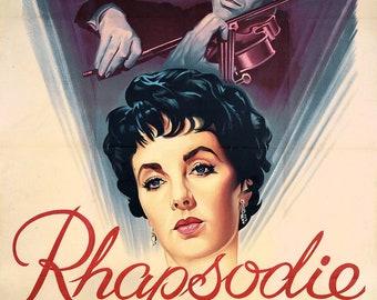 RHAPSODY - Elizabeth Taylor