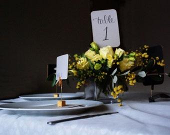 Printable Elegant Wedding Table Numbers 1-24 - Instant download