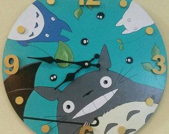 Wall Clock Painting, Totoro