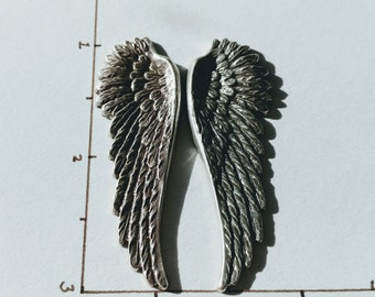 Wings Sterling Silver Wings Angel Wings Pendants Stampings