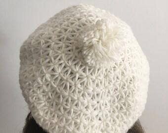 Hand Knit Beret