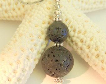 Lava Rock Oil Diffuser Pendant