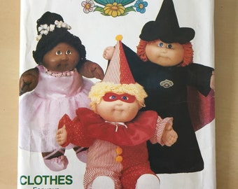 Cabbage Patch Kids - Butterick #6935 Halloween Costumes