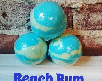 Bath Bomb *Beach Bum*- Bath Fizzy, LUSH like Bombs