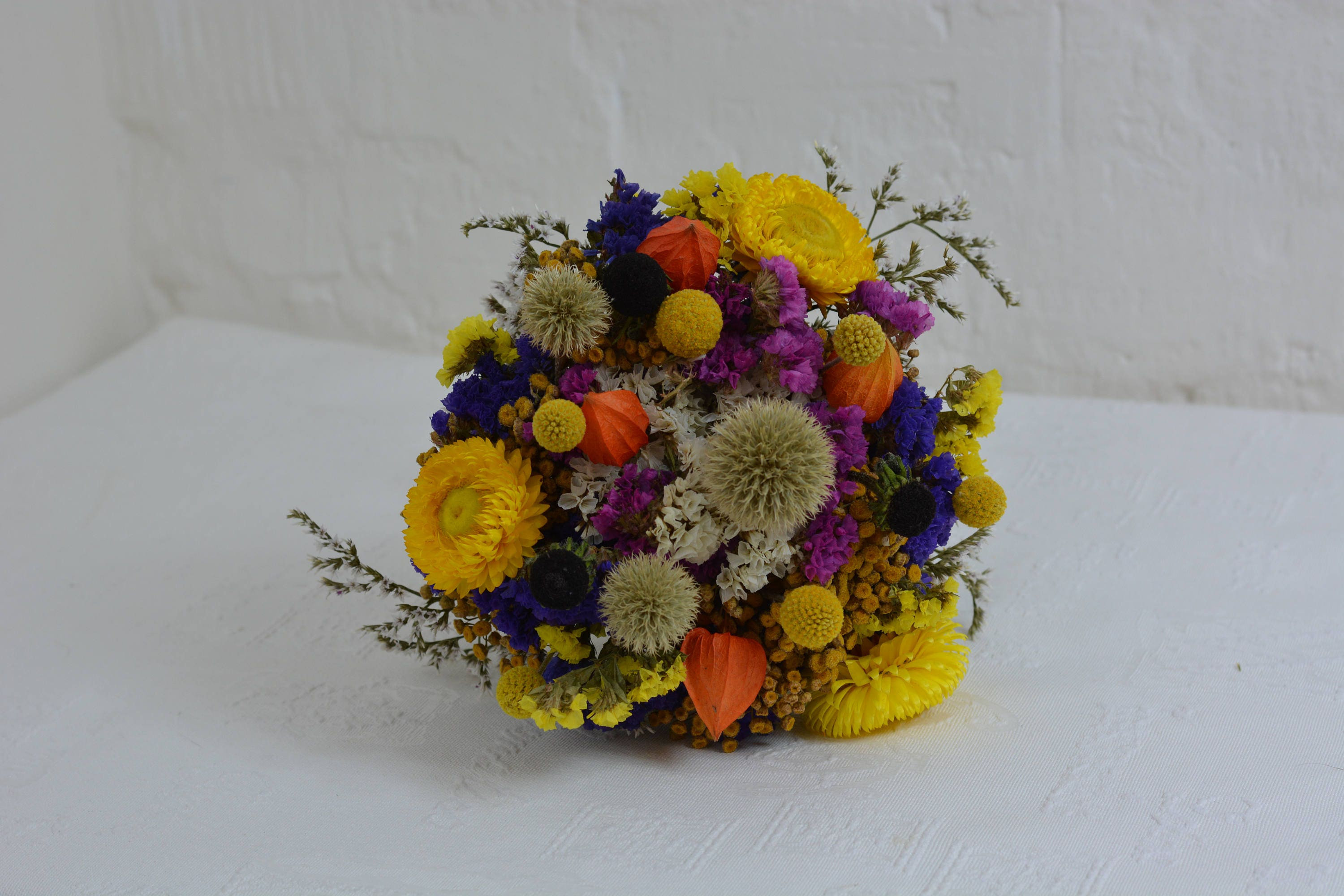 Dried flower bouquet , Dried Flowers Fall Colors , Wedding Flowers ...