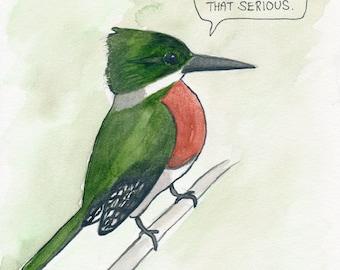 The Green Kingfisher